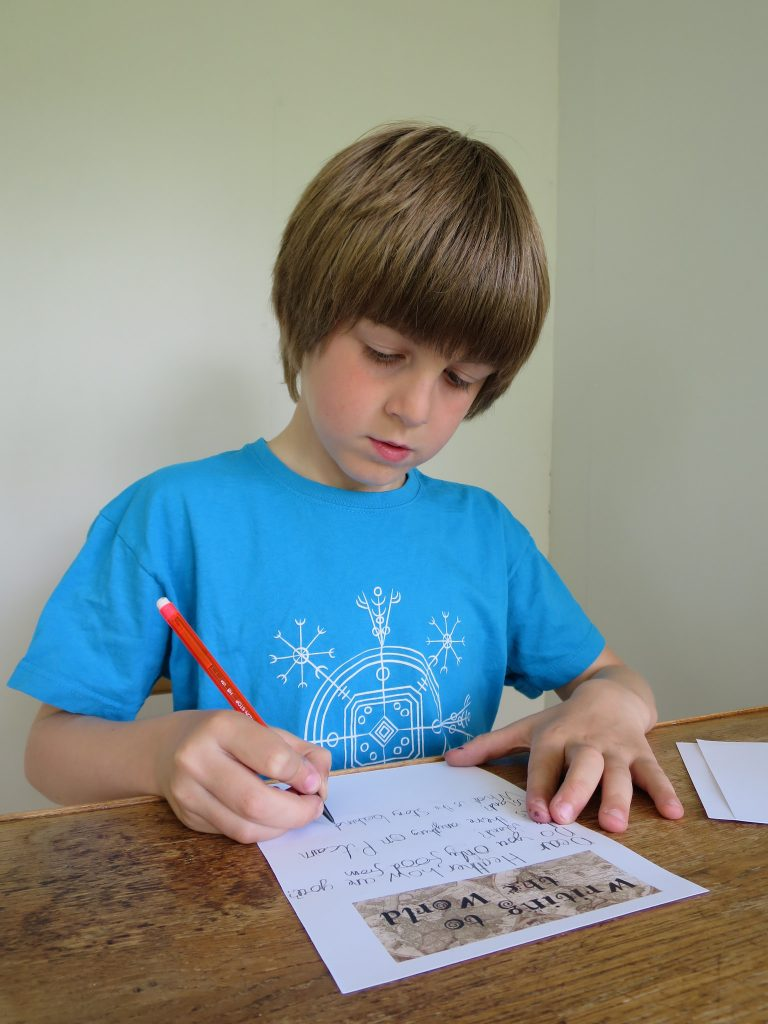 Toby Writing